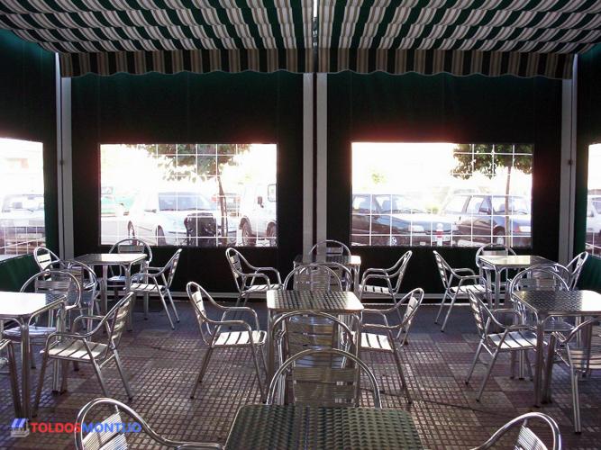 Toldos Montijo, Toldos de bares, terraza