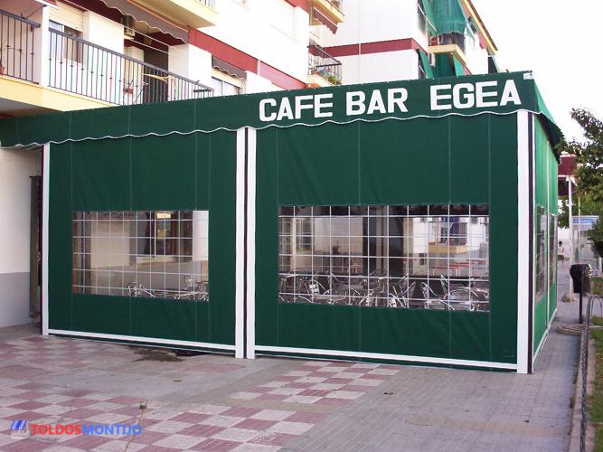 Toldos Montijo, Toldos de bares exterior terraza 2