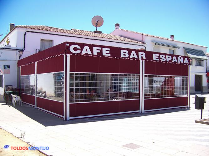 Toldos Montijo, Toldos de bares exterior terraza 3