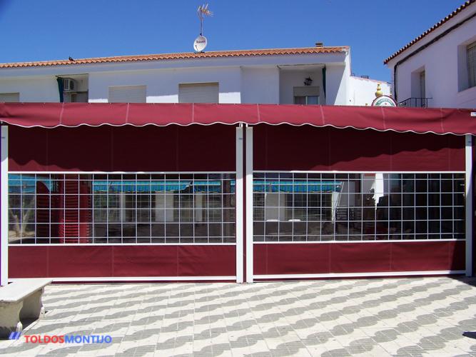 Toldos Montijo, Toldos de bares exterior terraza 4