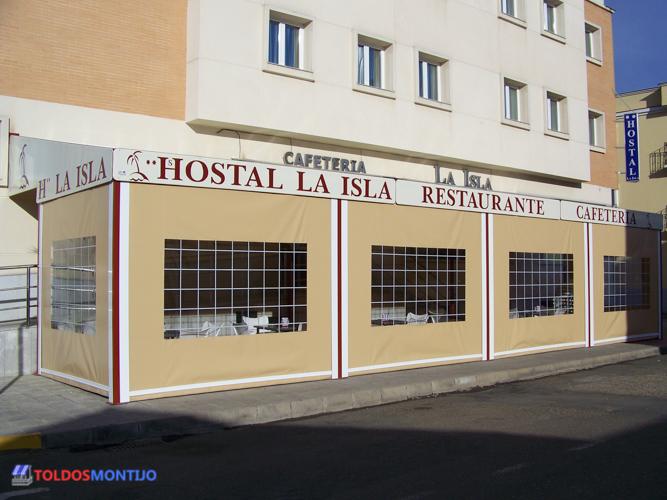Toldos Montijo, Toldos de bares exterior terraza 5
