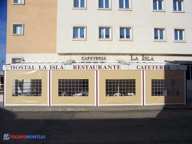 Toldos Montijo, Toldos de bares exterior terraza 6