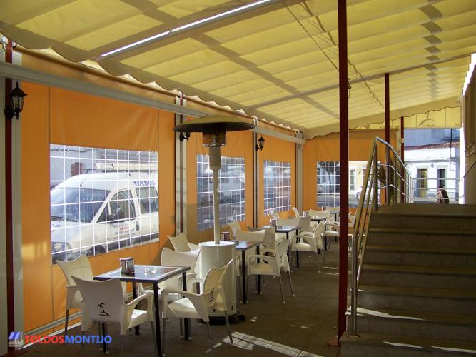 Toldos Montijo, Toldos de bares interior terraza 3