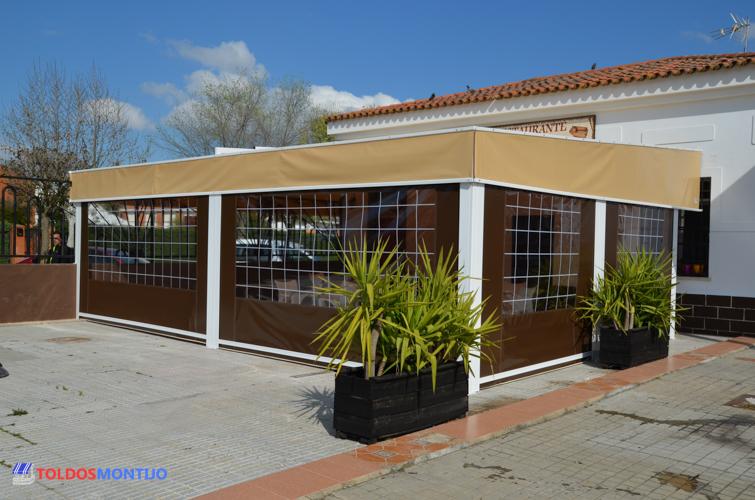 Toldos montijo nuestros trabajos toldos de bares - Toldos terrazas bares ...