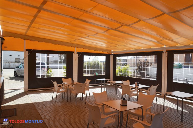 Toldos Montijo, Toldos de bares interior terraza 4