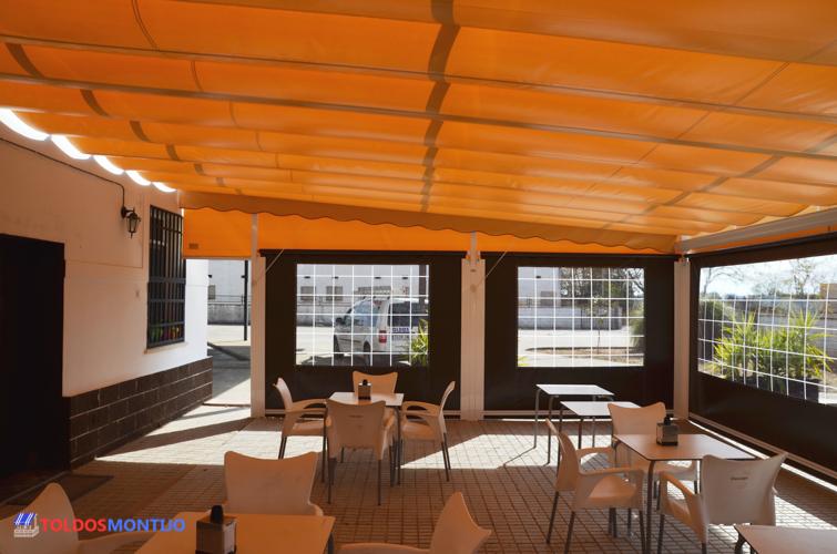 Toldos Montijo, Toldos de bares interior terraza 5