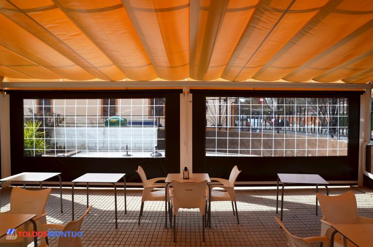 Toldos Montijo, Toldos de bares interior terraza 6